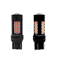 Χαμηλού Κόστους Car Signal Lights-2pcs Λάμπες 27W SMD 3030 54 Φως Φλας For Universal Όλα τα μοντέλα Όλες οι χρονιές