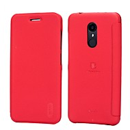 billiga Mobil cases & Skärmskydd-Lenuo fodral Till Xiaomi Redmi not 5A / Redmi 5 Plus / Redmi 5 Korthållare / Stötsäker / Lucka Enfärgad Hårt för