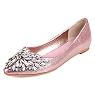 preiswerte Damen Ballerinas-Damen Schuhe PU Frühling Herbst Komfort Flache Schuhe Flacher Absatz für Draussen Gold Silber Rosa