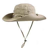 Ljetni šešir Kapa otporna na UV zrake Ljeto UV otporna Vježbanje na otvorenom Uniseks Pamuk Jednobojni