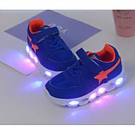 Para Meninos sapatos Tule Inverno Outono Conforto Tênis para Casual Azul Rosa claro