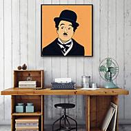 billige Innrammet kunst-Mennesker Tegning Veggkunst,PVC Materiale med ramme For Hjem Dekor Rammekunst Stue Innendørs