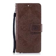 billiga Mobil cases & Skärmskydd-fodral Till Huawei Honor 7 Huawei Honor 9 Honor 8 Korthållare Plånbok med stativ Lucka Läderplastik Fodral Blomma Hårt PU läder för Honor