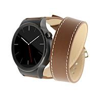 billiga Smart klocka Tillbehör-Klockarmband för Huawei Watch Huawei Klassiskt spänne Äkta Läder Handledsrem