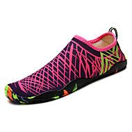 baratos Sapatos Masculinos-Homens Tecido / Couro Ecológico Primavera / Outono Conforto Tênis Estampa Colorida Verde / Branco / Preto / Azul Real