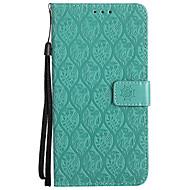 billiga Mobil cases & Skärmskydd-fodral Till Huawei / Huawei Mate 7 / Huawei Mate 8 Mate 10 pro / Mate 10 lite Plånbok / Korthållare / med stativ Fodral Enfärgad Hårt PU läder för Mate 10 / Mate 10 pro / Mate 10 lite