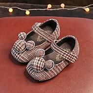 お買い得  ベビー用靴-赤ちゃん 靴 フロック加工 春 秋 赤ちゃん用靴 コンフォートシューズ フラット のために カジュアル ブラック Brown