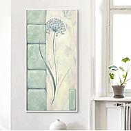 billige Innrammet kunst-Still Life Olje Maleri Veggkunst,Tre Materiale med ramme For Hjem Dekor Rammekunst Innendørs Soverom