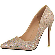 cheap Women's Shoes-Women's Shoes Glitter Spring Fall Gladiator Basic Pump Heels Stiletto Heel Sparkling Glitter for Dress Party & Evening Gold Black Silver
