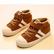 baratos Sapatos de Menino-Para Meninos Sapatos Pele Nobuck Primavera / Outono Conforto Tênis para Preto / Vinho / Khaki