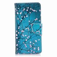 billiga Mobil cases & Skärmskydd-fodral Till Nokia Nokia 8 Nokia 6 Korthållare Plånbok med stativ Lucka Mönster Fodral Blomma Hårt PU läder för Nokia 8 Nokia 6 Nokia 5