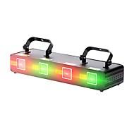 Χαμηλού Κόστους Φώτα σκηνής-U'King Λέιζερ Φως Σκηνής 9 DMX 512 Master-Slave Ενεργοποίηση με  Ήχο Auto για Γιορτές/Διακοπές Κλαμπ Μπαρ Σκηνή Πάρτι Επαγγελματικό