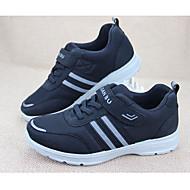 お買い得  メンズスニーカー-男性用 靴 キャンバス オールシーズン コンフォートシューズ スニーカー のために カジュアル ブラック グレー ブルー