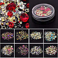 Roupa Cristal Nail Glitter Fashion Alta qualidade Diário Conjuntos