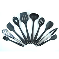 cheap Kitchen Tools-Silica Gel Creative Kitchen Gadget Cooking Utensils Cooking Tool Sets, 10pcs