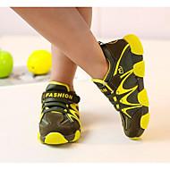 baratos Sapatos de Menina-Para Meninos / Para Meninas Sapatos Lona Primavera / Outono Conforto Tênis para Amarelo / Vermelho / Verde