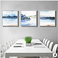 Famous Oil Painting Wall Art,Wood Material With Frame For Home Decoration Frame Art Dining Room