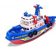 hesapli Oyuncak Tekneler-Oyuncak Tekneler Bot Oyuncaklar Düzensiz Kumsal Teması Parıltılı Ses ile aktifleştirilen LED Işıklar şan 1 Parçalar