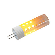 billige Kornpærer med LED-BRELONG® 1pc 3W 230 lm G4 LED-kornpærer 36 leds SMD 2835 Flame Effect Varm hvit DC 12 V