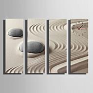 billige Lerretklokker-Moderne Stil Tre Kvadrat Innendørs,Batteri