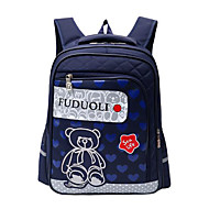 cheap Backpacks-Bags Nylon Backpack Zipper Character Dark Blue / Purple / Fuchsia