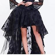cheap Women's Skirts-Women's Swing Skirts - Floral Layered