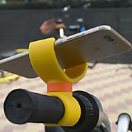 billiga Mobil cases & Skärmskydd-cykel mobilmonteringshållare hållare justerbar ställning mobilspänne typ glidbeständig silikonhållare