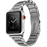 billiga Smart klocka Tillbehör-Klockarmband för Apple Watch Series 4/3/2/1 Apple Klassiskt spänne Stål Handledsrem