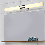 tanie Oświetlenie lustra-Ochrona oczu Współczesny Prosty Oświetlenie łazienkowe Na Łazienka Akrylowe Światło ścienne 220V 8W