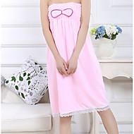 tanie Ręcznik kąpielowy-Świeży styl Ręcznik kąpielowy, Jendolity kolor Najwyższa jakość Czysta bawełna Tkana Plain Ręcznik