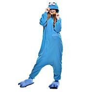 Kigurumi plišana pidžama Cookie Anime Monster Onesie pidžama Kostim Flis Sintetička vlakna Plava Cosplay Za Odrasli Zivotinja Odjeća Za