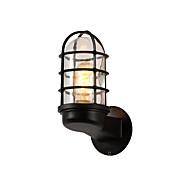 billige Vegglamper-amerikansk land glass veggen sconce nord europa enkelhet stue soverom korridor midtgangen vegg lampe