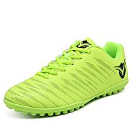 baratos Sapatos de Menina-Para Meninas Sapatos Micofibra Sintética PU Primavera / Outono Conforto Tênis Futebol para Vermelho / Verde Claro / Azul Real / Listrado