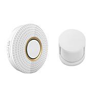 billige Dørklokkesystemer-trådløs dørklokke alarm sikkerhet 110-220v 52 ringetoner (ir dørklokke& 433mhz menneskelig sensor)
