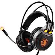 SADES R1 Pandebånd Ledning Hovedtelefoner Dynamisk Plast Gaming øretelefon Headset