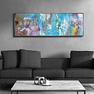 お買い得  額入りアート-油絵 ウォールアート,プラスチック 材料 フレーム付き For ホームデコレーション フレームアート 室内