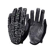 SPAKCT Luvas Esportivas Luvas Táteis Permeável á Humidade Anti-desgaste Dedo Total Luvas para Telas de Touch Pele Sintética Acampar e