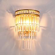 זול -קריסטל מנורות קיר עבור סלון משרד מתכת אור קיר IP20 110-120V 220-240V 3W