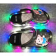 Pige PVC-læder Sandaler Små børn (4-7 år) Komfort Orange / Blå / Lys pink Forår / Efterår