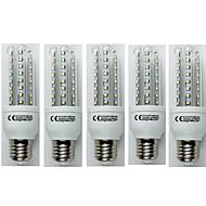 tanie Więcej Kupujesz, Więcej Oszczędzasz-5pcs 9W 720 lm E27 Żarówki LED kukurydza T30 48 Diody lED SMD 3528 Zimna biel AC 110-240V
