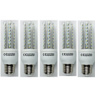 billige Kornpærer med LED-5pcs 9W 720 lm E27 LED-kornpærer T30 48 leds SMD 3528 Kjølig hvit AC 110-240V