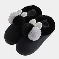tanie Pantofle-Comfort Pantofle mokasyny Pantofle damskie Poliester Poliester