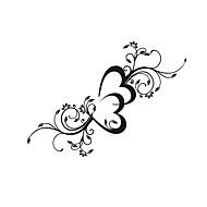 billige Vægklistermærker-Romantik Blomster Vægklistermærker Fly vægklistermærker Dekorative Mur Klistermærker, Vinyl Hjem Dekoration Vægoverføringsbillede Vindue