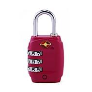 お買い得  ダイヤルロック-TSA331 南京錠 亜鉛合金 プラスチック のために 鍵