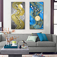 cheap Prints-Canvas Print Modern, Two Panels Canvas Vertical Print Wall Decor Home Decoration