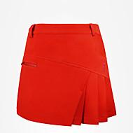 hesapli Golf Giysileri-Kadın's Golf Etekler Hızlı Kurulama Rüzgar Geçirmez Giyilebilir Hava Alan Golf Dış Mekan Egzersizi