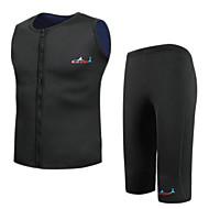 hesapli Blue Dive®-Bluedive Unisex 2mm Kısa Dalış Elbisesi Sıcak Tutma Hızlı Kuruma Ön Fermuar Sıkıştırma Naylon Neoprene Dalgıç elbisesi Şort Yelek Kısa