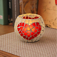 cheap Candles & Candleholders-European Style Glass Candle Holders 1pc, Candle/Candle Holder