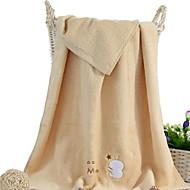 tanie Ręcznik kąpielowy-Świeży styl Ręcznik kąpielowy, Jendolity kolor Najwyższa jakość 100% bawełna 100% Perkal Ręcznik
