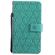 billiga Mobil cases & Skärmskydd-fodral Till LG K10 (2017) / G6 Plånbok / Korthållare / med stativ Fodral Enfärgad Hårt PU läder för LG X Power / LG V20 / LG V10 / LG G6
